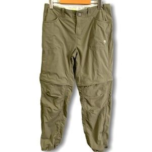 MOUNTAIN HARDWEAR Convertible Hiking Pants Sz 10